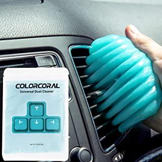 ColorCoral 除尘器键盘清洁凝胶通用清洁小工具,用于汽车清洁和电脑除尘(1 件装)