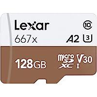 Lexar Professional 667x 64GB microSDXC UHS-I/U3 卡LSDMI128BNA…