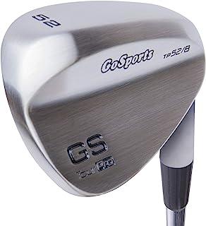 GoSports Tour Pro 高尔夫楔子 – 52 间隙楔,56 个沙楔和 60 个杆楔,缎面或黑色饰面(右手)