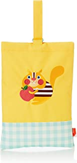 Solby 保育园 幼儿园 手提包 室内鞋 鞋包 松鼠/黄色 BGSB004065100