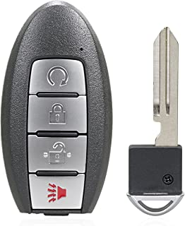 TG Auto 4 纽扣 434Mhz 无钥匙入口挂扣汽车遥控智能钥匙,适用于 2019-2020 Nissan Murano Pathfinder Titan FCC ID : KR5TXN7 P/N : 285E3-9UF5B