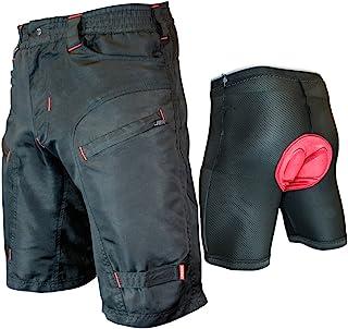 Urban Cycling Apparel 青年单人追踪器 - 儿童山地自行车 MTB 工装短裤套装带可拆卸加厚短裤