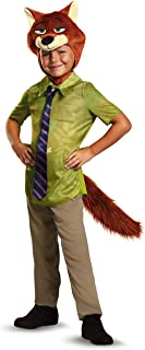 Disguise Nick Wilde Classic Zootopia Disney Costume, Small/4-6