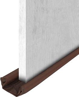 oenbopo 双门挡风玻璃防护塞门下挡风玻璃门挡板阻隔器降噪器适用于家庭外部风暴