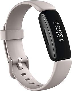 Fitbit Inspire 2 健康健身追踪器,带免费 1 年 Fitbit 高级试用,24/7 心率和长达 10 天电池