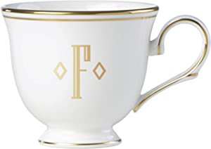 Lenox 联邦金块交织字母餐具 字母 F 872909