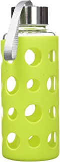 Ibili Lake 玻璃瓶,绿色,400 毫升,1 件