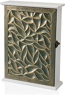 Versa,浅棕色钥匙扣,线条装饰和礼物,整理装饰