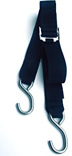 Rod Saver Gunwale Stainless Steel Roller Buckle Tie-Down