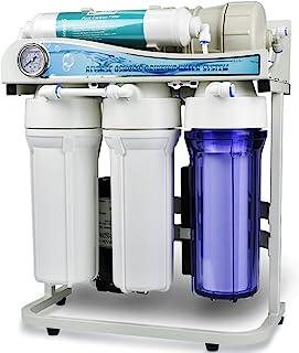 iSpring RCS5T 500 GPD 商业级无油水箱反渗透水过滤器系统,1:1 排水比