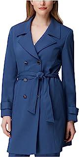TAHARI 女式蓝色西装外套上班夹克尺码 10