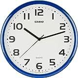 CASIO 卡西欧 挂钟 蓝色 直径25cm IQ-24-2JF