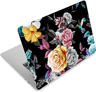 笔记本电脑皮肤贴纸封面贴花适合 12 13 13.3 14 15 15.4 15.6 英寸笔记本电脑保护膜 笔记本电脑 | 易于安装、拆卸和改变样式(Kingfisher 和玫瑰色)