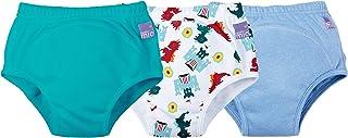 Bambino Mio,便盆训练裤,混合男孩龙地牢,3 岁以上,3 件装