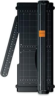 Fiskars SureCut 便携式修剪器,带回收切割线,12 英寸切割,黑色