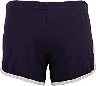 American Apparel 女式双面跑步短裤