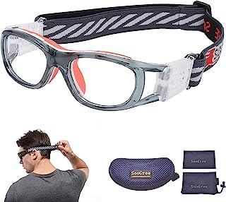 ''N/A'' SooGree 儿童篮球足球运动训练眼镜防*镜护目镜防雾镜片适用于男孩格栅青少年*眼镜,适合 7-12 岁儿童