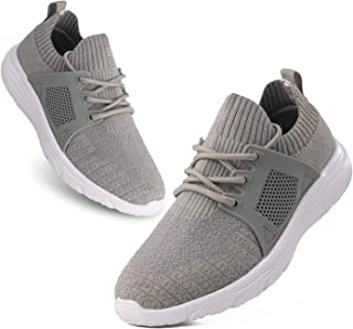 Tvtaop 男童女孩跑步鞋舒适轻便一脚蹬运动鞋运动鞋网球鞋(幼儿/小童)