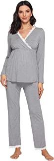 Latuza 女式孕妇睡裤套装哺乳家居服