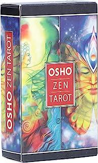 Osho 禅塔罗牌,79 张塔罗牌套装占卜甲板塔罗牌,适合初学者,送给爱人或自己独特的礼物,塔罗牌,未来告知彩色盒子罕见的印花