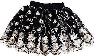 女童幼童蓬蓬裙,女孩黑色裙子,女孩服装,女婴裙,蕾丝裙 1-9 岁儿童