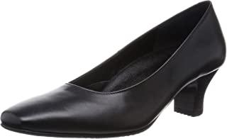 [ 华歌尔 Success Walk ] 方头浅口鞋高跟5cm 双 C ~3E 牛皮 wfn555