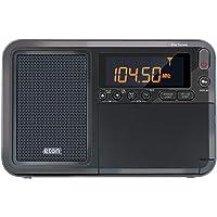 Eton Elite 旅行者AM/FM/LW/短波收音机,带RDS和定制真皮便携套