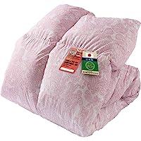 Iris 爱丽思 羽绒被 单人用 白鸭绒85% 日本制造 CIL红色标签 饱满 减少过敏原 日本国内洗涤 抗菌防臭 提升…