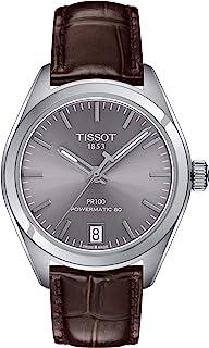 Tissot PR 100 自动铑表女式手表 T101.207.16.071.00