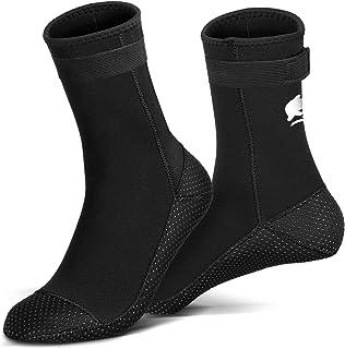 RTDEP 氯丁橡胶袜 3 毫米潜水服袜防滑防水袜胶合盲缝游泳袜鳍潜水袜