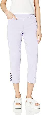 SLIM-SATION 女式套穿纯色军团,带真实正面和后口袋及肩带