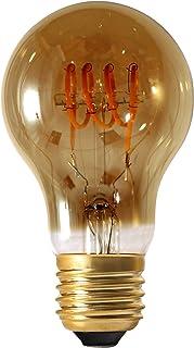 Girard Sudron 716671-LED GLS A60 LED 环形灯丝灯泡,B22(BC卡口盖),琥珀色,非常暖白,150流明,5瓦,烟熏色