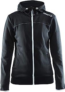 Craft Women's Leisure Full Zip Jacket with Hood