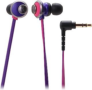 audio-technica 耳机 入耳式 粉紫色 ATH-CKF77 PPL