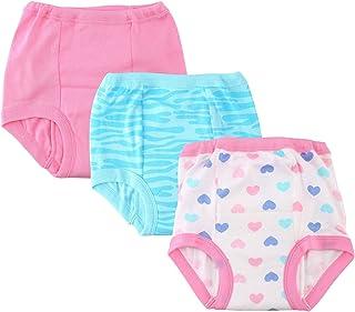 Gerber 女童训练裤 3 件套 - 心形图案
