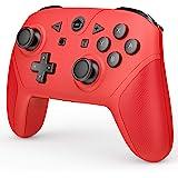 游戏控制器兼容 Switch 和 Switch Lite,无线 Pro 控制器 游戏手柄 遥控操纵杆带 NFC 唤醒、涡…