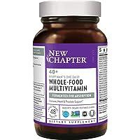 New Chapter 男士复合维生素,每天1粒,40岁以上,益生菌+锯棕榈+ B维生素+维生素D3 +Organic…