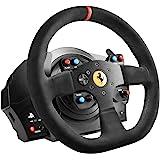 Thrustmaster 图马思特 T300法拉利一体化赛车轮Alcantara版 - 游戏控制(Wheel + Ped…