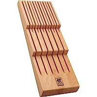 ZWILLING 双立人 刀架,适用于抽屉,抽屉,适用于12把刀,41 x 15.5 x 4.8厘米,木质