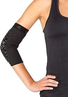 DonJoy Performance Defender 压缩护肘垫(双) - 为碰撞接触运动、足球、橄榄球、曲棍球、武术、障碍课程提供衬垫支撑