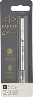 Parker 派克 5th 替换芯 F 黑色 1950273 5支装 吸塑 正规进口商品