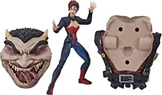 Hasbro 孩之宝 Marvel 漫威传奇系列 6 英寸(约15.24厘米)穿牛仔裤的灰色可动人形玩具 X-Men:《天启时代》系列