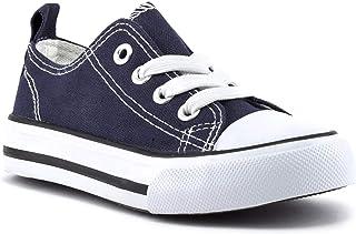 ZOOGS 低帮 Vulc 帆布鞋儿童运动鞋男孩女孩儿童运动鞋