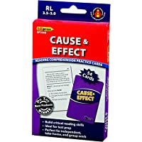 Edupress 阅读理解练习卡 Cause & Effect 蓝色
