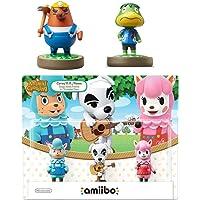 动物穿越系列 3 件装 Amiibo (动物穿越系列) - Mr. Resetti - Kapp'n Amiibo 任天…