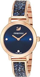 [施华洛世奇]Swarovski 手表 COSMIC ROCK【COSMIC ROCK】石英表 玫瑰金色表壳 蓝色表盘 女士 5466209 女士