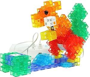Sony 索尼 KOOV 可编程教育机器人 益智 儿童玩具 礼品 STEAM课件 豪华版(需配合KOOV官方应用程序 含24个电子元件,302个拼插模块)【豪华版=基础版+扩展套件】