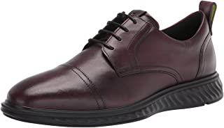 ECCO 爱步 Men's St.1 Hybrid Lite Cap Toe 男士系带短靴