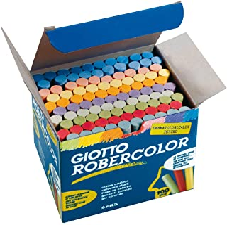 Giotto 5390 00 - RoberColor 黑板粉笔,纸板,100件,颜色分类
