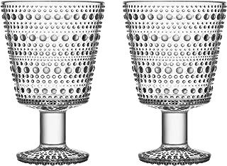 Iittala Kasehelmi 通用玻璃套装,2 透明